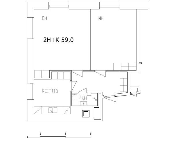 2h+k 59,0 m2