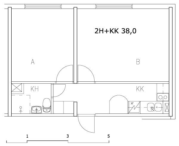 2h+kk 38,0 m2