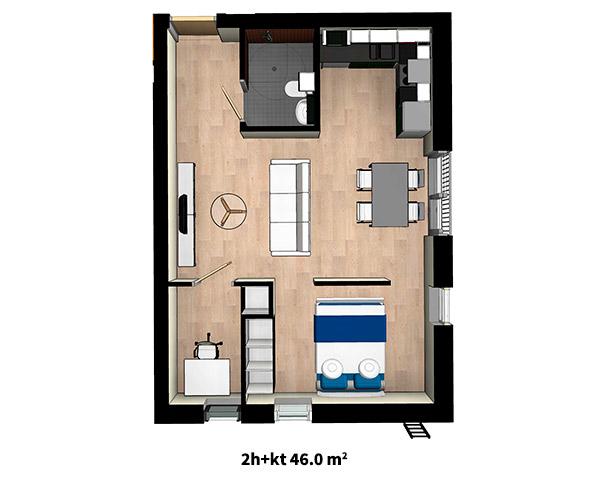 2h + kt 46 m2